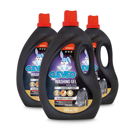 CLEVEO Laundry Gel Black & Dark  Perfect 4L