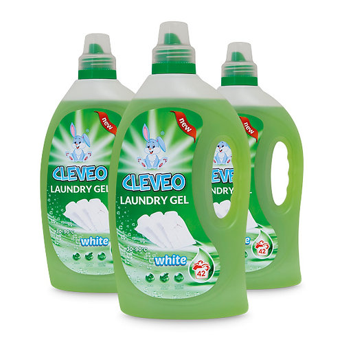 CLEVEO Laundry Gel White 1,5L