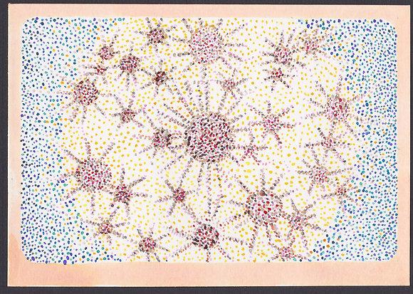 Carte postale: Méditation, brillance