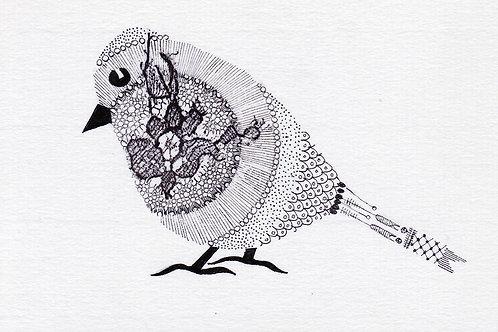 Copie de Oiseau mandala