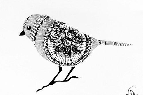 Oiseau mandala