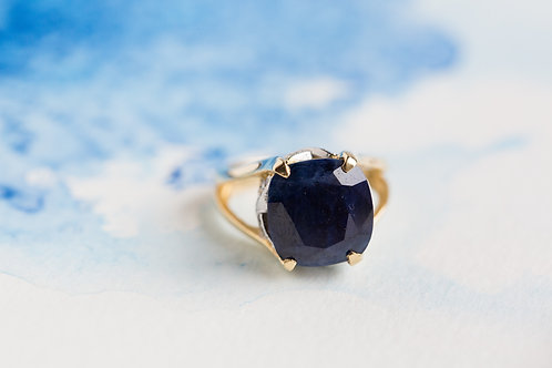 Root Sapphire Ring