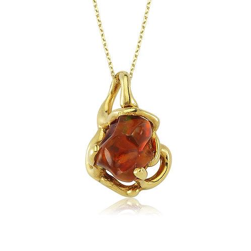Vintage Glass Necklace