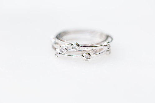 Triple diamond bands