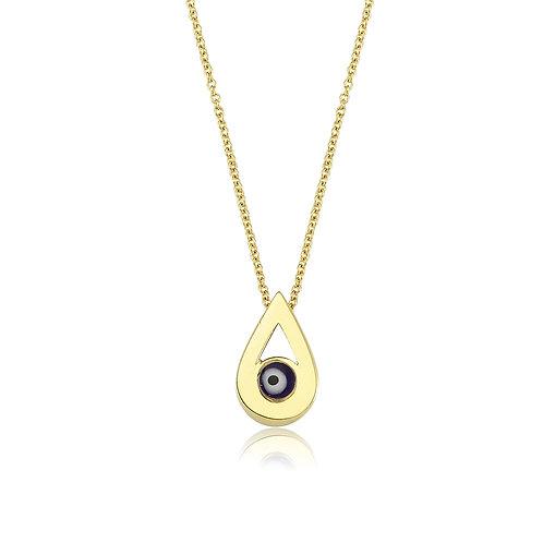 Evil Eye Drop Necklace