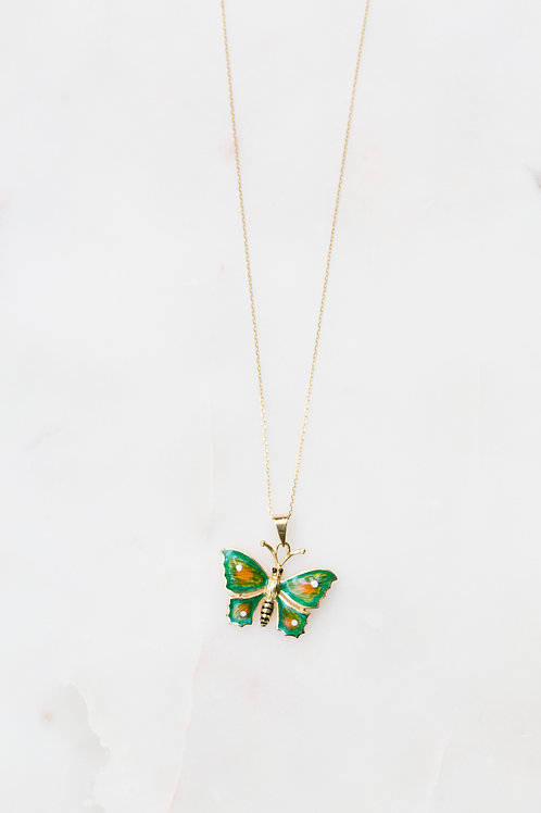 Large Butterly Necklace