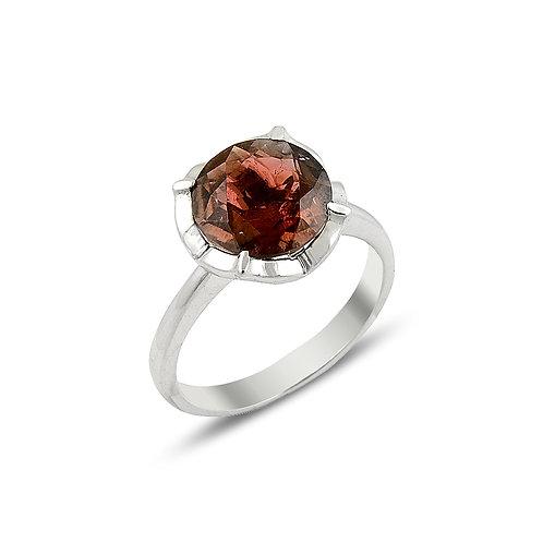 Tourmaline Rose Ring