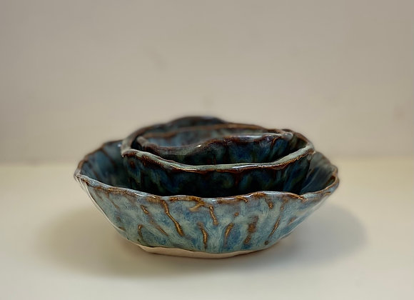 Nested pinch pots