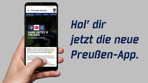 Ab sofort im App-Store: unsere neue Preußen-App!