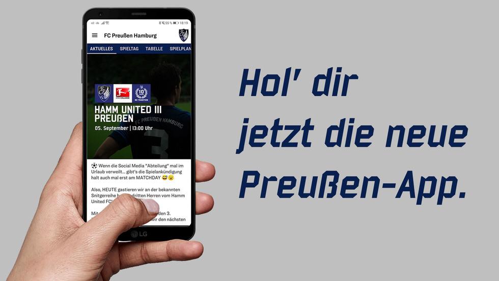 Ab sofort im App-Store. Unsere neue Preußen-App