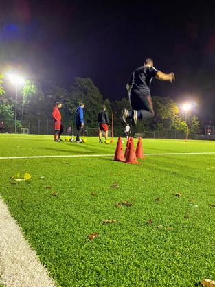 erstes Training 08-10-2020