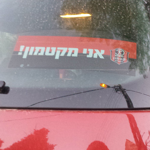Katamon Sticker | מדבקת אני מקטמון