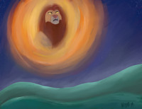 Mufasa (Lion King fanart)
