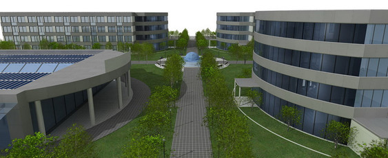 Complesso aule scuola + campus + student housing - Bologna