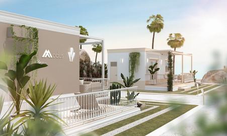 Casa ECO-GLAMM per villaggio turistico