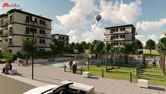 Complesso edifici di Social Housing