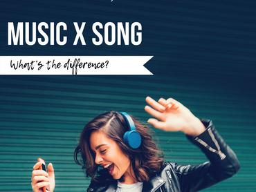 MUSIC x SONG: Qual a diferença?