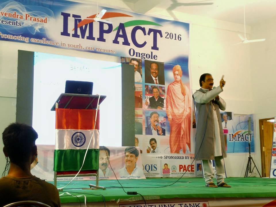 Honoured by IMPACT foundation, Ongole.jp