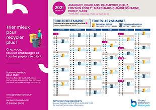 planning déchets secteur Arguel Fontain-