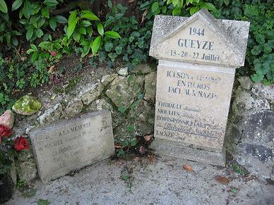 Mémorial de la résistance à Gueyze, Sos, Meylan 47