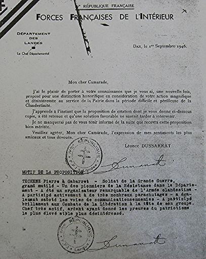 distinction honorifique de légion d'honneur