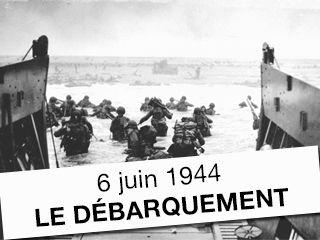 Débarquement en normandie 6 juin 1944