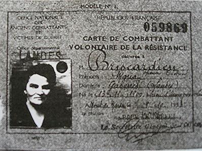 Maria Briscadieu dans la résistance des Landes