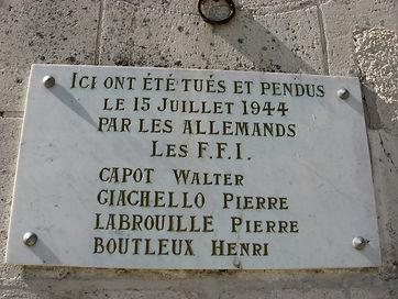 Combat de la résistance à SOS en Lot et Garonne 47
