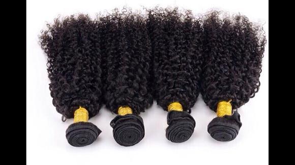 HUMAN HAIR CURLS 12 INCHES