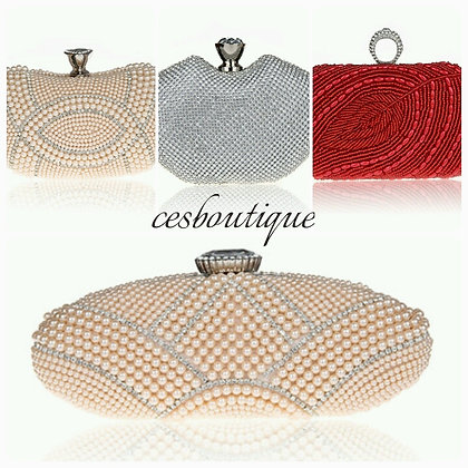 BEADED SEXY CLUTCH