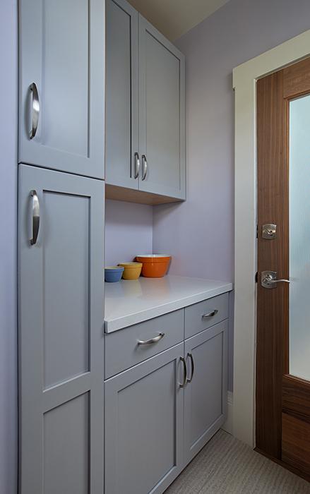New Cabinets: New Glass Door