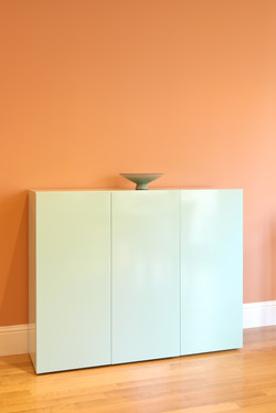 Custom Lacquer Entry Cabinet