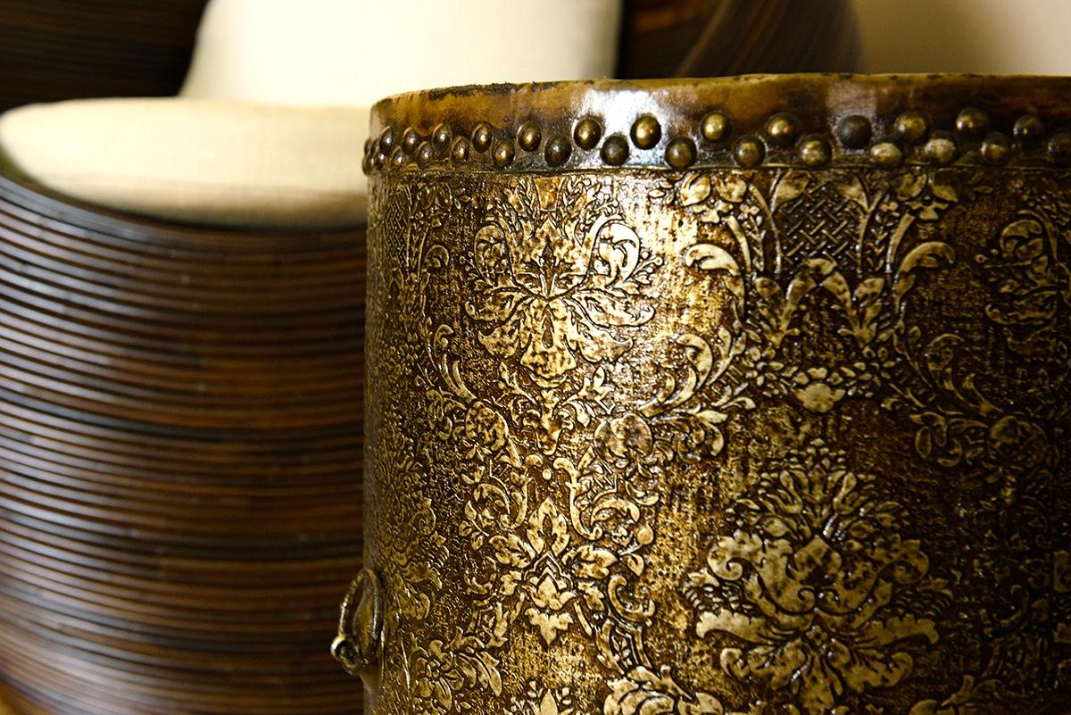 Drum as Tea Table