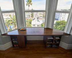 Desk with spectacular view