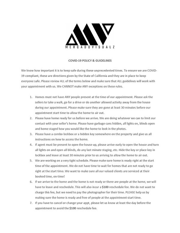 MercadoVisualz COVID 19 template verbiag