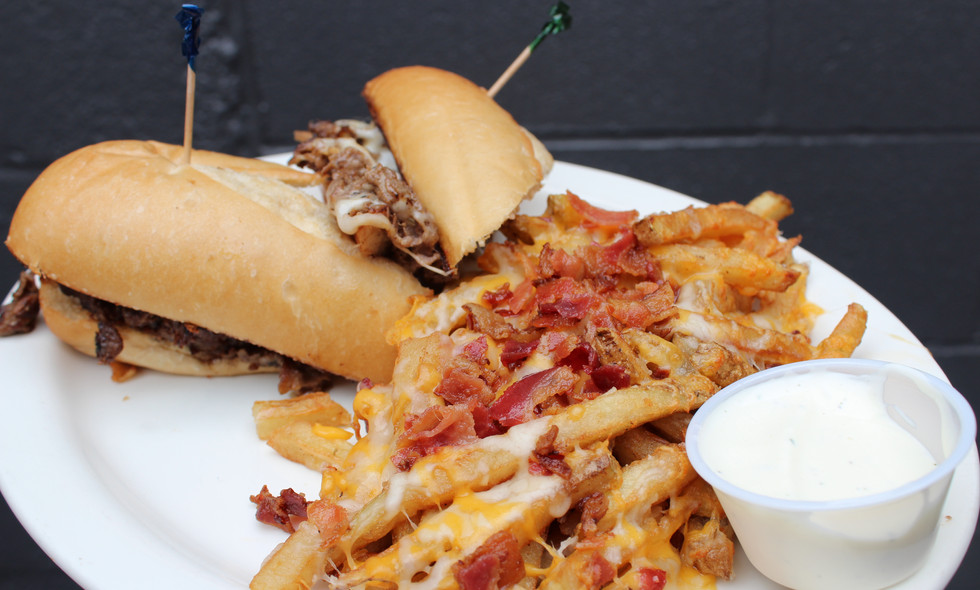 Philly Cheese Steak w_ side of Crack Fries.jpg