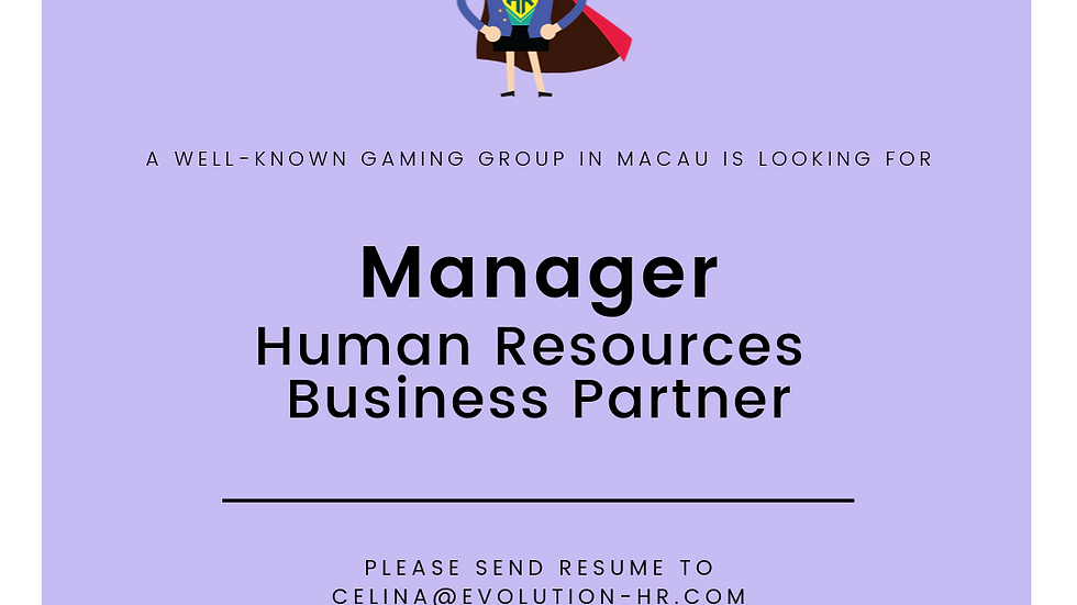 Manager, Human Resources Business Partner