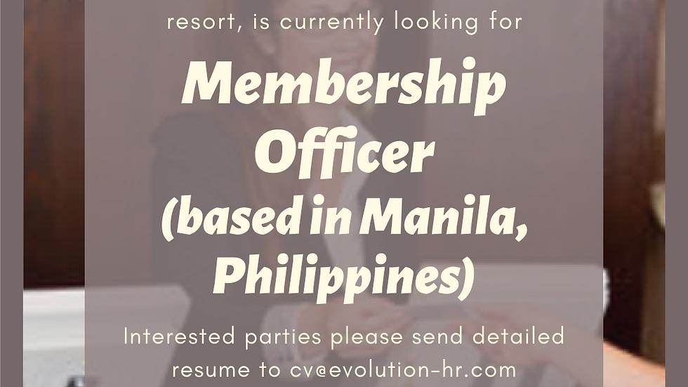 Membership Officer