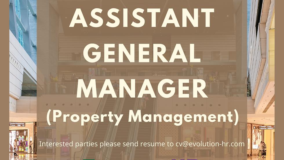 Assistant General Manager (Property Management)