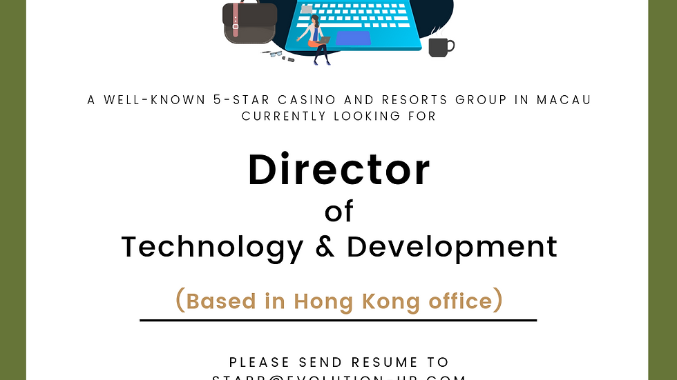Director of Technology and Development