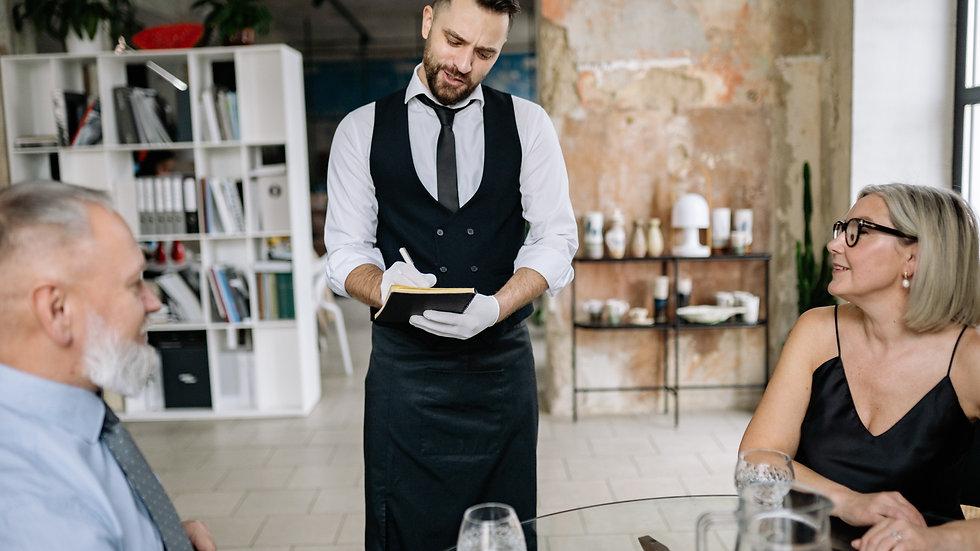Restaurant Servers / Captain - French fine dining