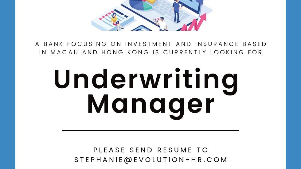 Underwriting Manager