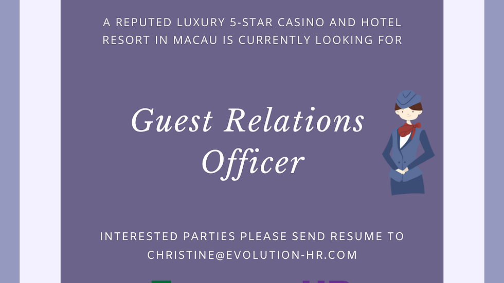 Guest Relations Officer