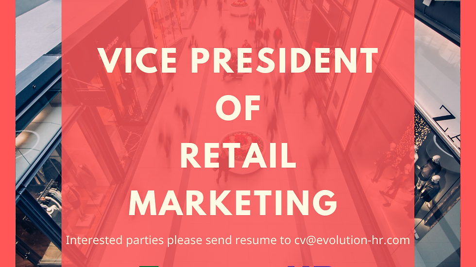Vice President of Retail Marketing, Macau