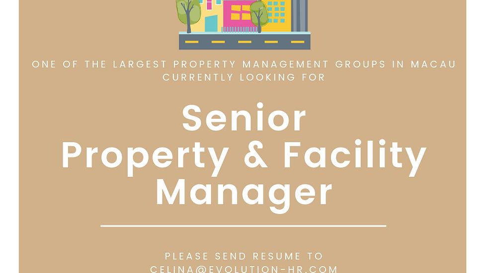 Senior Property & Facility Manager