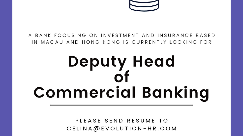 Deputy Head of Commercial Banking