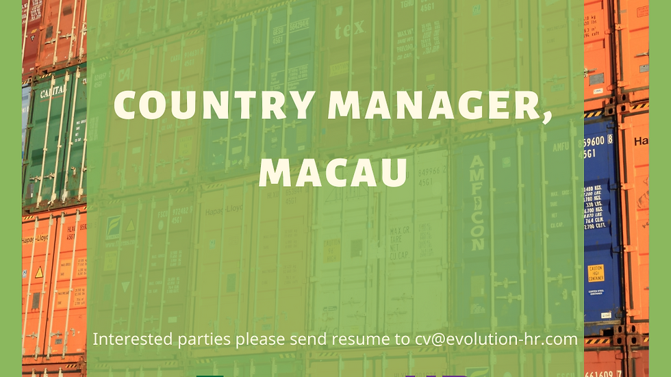 Country Manager, Macau