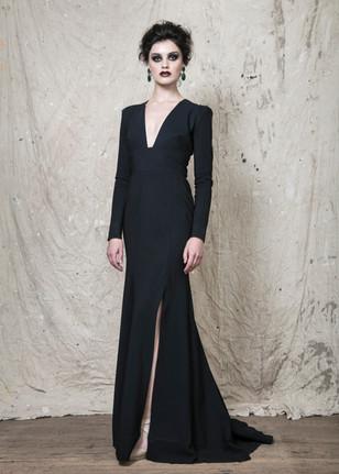 Black Greta gown