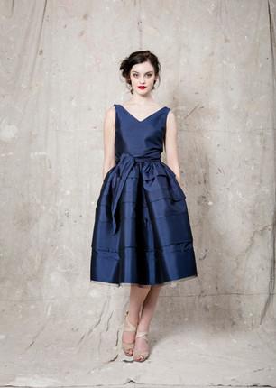 Navy Viak Dress