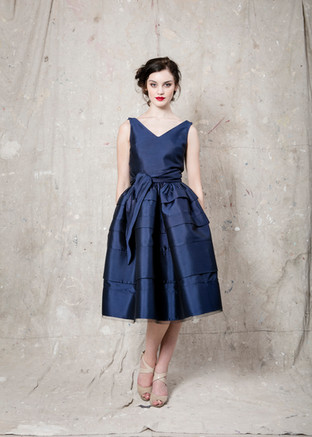 Navy Viak Dress